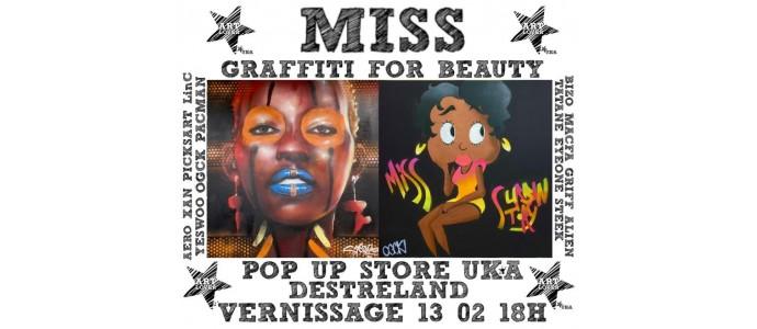 Miss - Graffiti for beauty